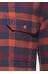 Fjällräven Skog overhemd en blouse lange mouwen Heren rood/bont